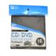 CD/DVDスリーブケース 10枚収納 ブラック [品番]01-0944