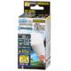 LED電球 ミニクリプトン形 E17 25形相当 調光器対応 防雨タイプ 昼白色 [品番]06-1876