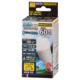 LED電球 ミニクリプトン形 E17 60形相当 調光器対応 防雨タイプ 昼白色 [品番]06-1880