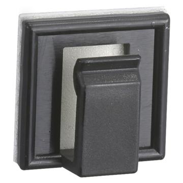 絶縁コードクリップ 16K ブラック 10個入 [品番]09-1923