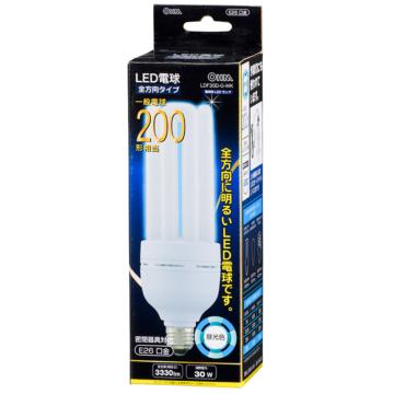 LED電球 D形 E26 200形相当 昼光色 [品番]06-0200