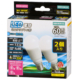 LED電球 ミニクリプトン形 E17 60形相当 防雨タイプ 昼白色 2個入 [品番]06-1892