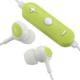 AudioComm ワイヤレスイヤホン コントローラー付 グリーン [品番]03-0339