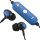 AudioComm ワイヤレスイヤホン コントローラー付 ブルー [品番]03-0341