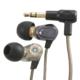 AudioComm ステレオインナーホン ブラック [品番]03-2261