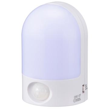 LEDセンサーライト 明暗+人感 [品番]07-9882