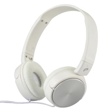 AudioComm コンパクトヘッドホン ホワイト [品番]03-2803
