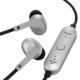 AudioComm ワイヤレスイヤホン コントローラー付 シルバー [品番]03-1675