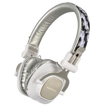 AudioComm Bluetoothステレオヘッドホン ホワイト [品番]03-1696