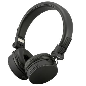 AudioComm ワイヤレスヘッドホン ブラック [品番]03-2862