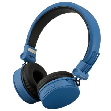 AudioComm ワイヤレスヘッドホン ブルー [品番]03-2864