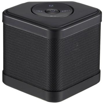 AudioComm ワイヤレスキュービックスピーカー ブラック [品番]03-3178