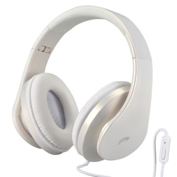 AudioComm ヘッドホン スマートフォン用 ホワイト[品番]03-2805