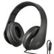 AudioComm ヘッドホン スマートフォン用 ブラック [品番]03-2806