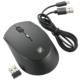 充電できるワイヤレスマウス ブラック [品番]01-3760