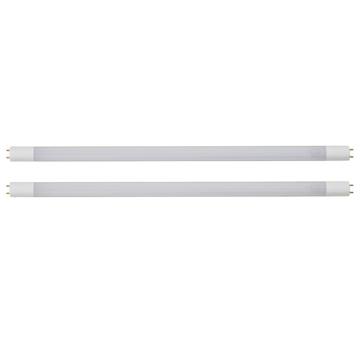 直管LEDランプ 20形相当 G13 昼白色 グロースタータ器具専用 2本入 [品番]06-0917