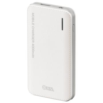 モバイルチャージャー 薄型4000mAh PSE適合品 [品番]05-1184