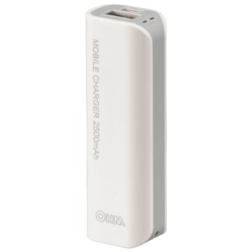 モバイルチャージャー 小型2500mAhタイプ  PSE適合品[品番]05-1191