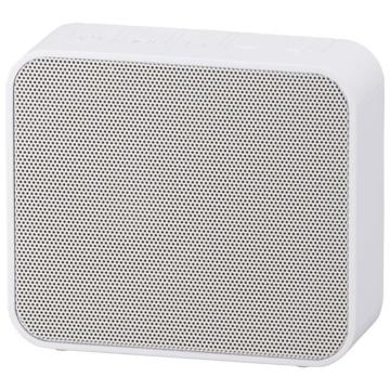 AudioComm ワイヤレス充電・スピーカー ホワイト [品番]03-3189