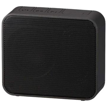 AudioComm ワイヤレス充電・スピーカー ブラック [品番]03-3190