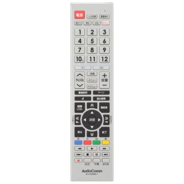 AudioComm 東芝レグザ専用テレビリモコン [品番]03-5912