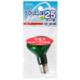 クリプトンミニレフ球 E17 25W グリーン [品番]04-6038