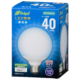 LED電球 ボール形 E26 40形相当 全方向 昼光色 [品番]06-3600
