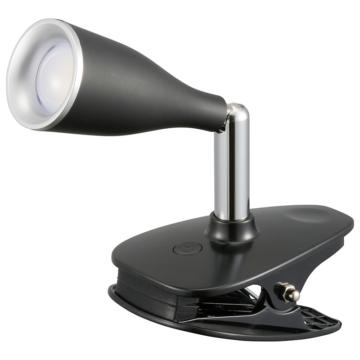 LEDクリップライト ブラック [品番]06-0893
