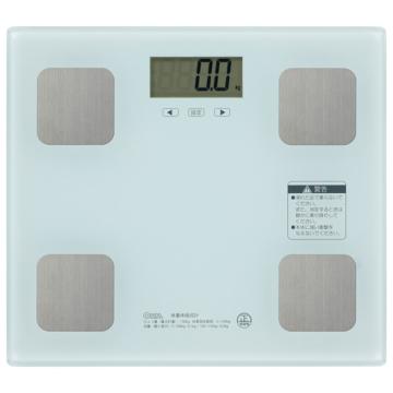 体重体組成計 ホワイト [品番]08-0499