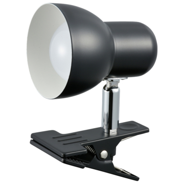 LEDクリップライト ブラック [品番]06-0842