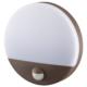 LEDセンサーウォールライト ドーム型 ブラウン [品番]06-4218
