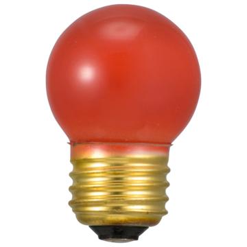 ミニボール球 E26 7W レッド [品番]06-0422