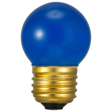 ミニボール球 E26 7W ブルー [品番]06-0423