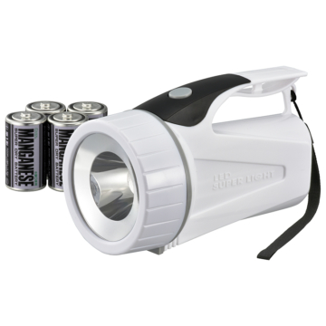 LED強力ライト 100lm 乾電池付き [品番]08-0820