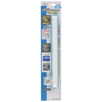 連結用LED多目的ライトECO&DECO_30cmタイプ 青色 [品番]06-1864