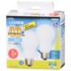 LED電球 E26 40形相当 広配光 昼白色 2個入 [品番]06-3298