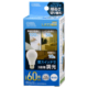 LED電球 E26 60形相当 3段階調光 昼光色 [品番]06-3426