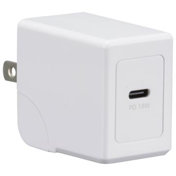 AC充電器 USB TypeC 1個口 超高速充電PD対応 [品番]01-7143