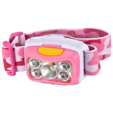 LEDヘッドライト 300ルーメン ピンク [品番]08-0971