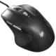 静音マウス ブルーLED Mサイズ ブラック [品番]01-3564