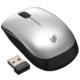 静音ワイヤレスマウス ブルーLED Sサイズ シルバー [品番]01-3597