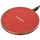 SmartComm ワイヤレス充電器 急速充電対応 レッド [品番]03-3086