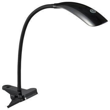 LEDクリップライト ブラック [品番]06-1682