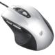 静音マウス ブルーLED Mサイズ シルバー [品番]01-3563