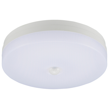 LEDミニシーリングライト 人感・明暗センサー付 電球色 [品番]06-3431
