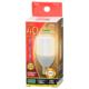 LED電球 T形 E17 40形相当 電球色 [品番]06-3735