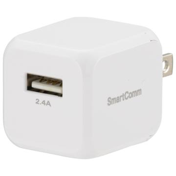 SmartComm USBチャージャー 12W TypeA [品番]03-3079