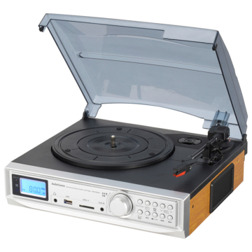AudioCommラジオ付マルチレコードプレーヤーシステム [品番]03-7300