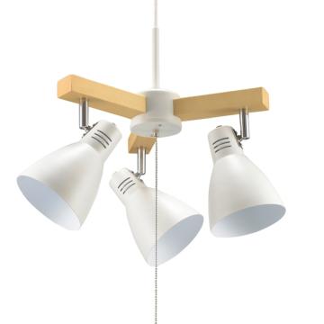 3灯ペンダントライト LED電球付 ホワイト [品番]06-1469