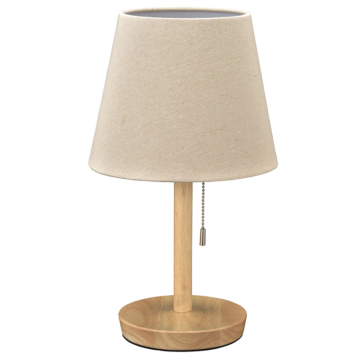 テーブルスタンド 木製 ナチュラル 電球別売 [品番]06-3809